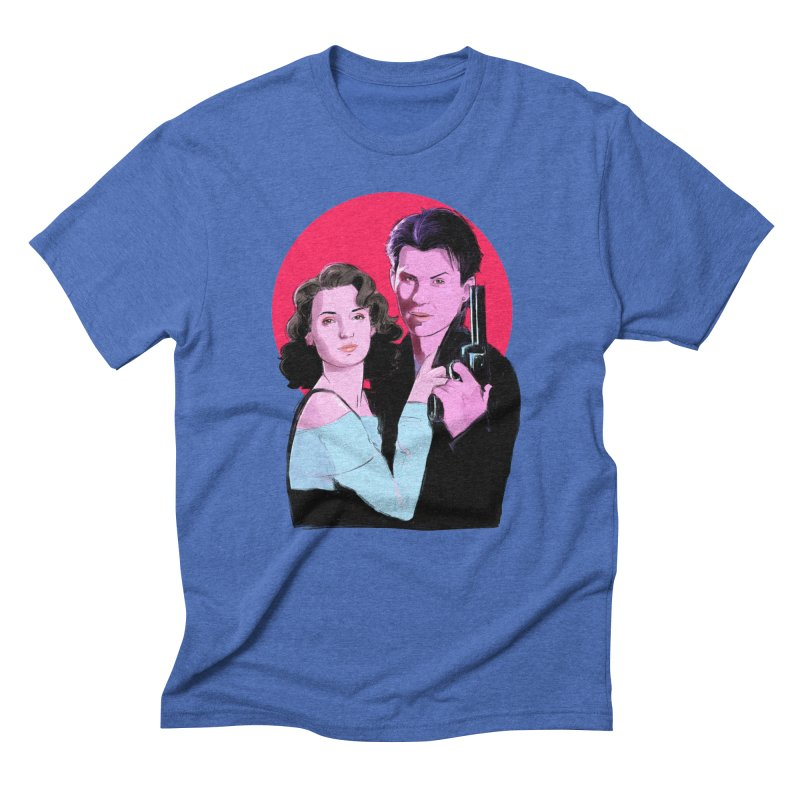 Veronica & JD Men's T-Shirt by Ego Rodriguez