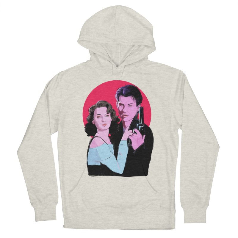Veronica & JD Women's French Terry Pullover Hoody by Ego Rodriguez