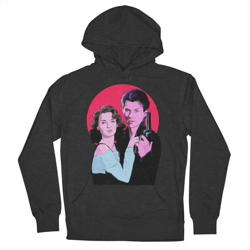 Veronica & JD Men's French Terry Pullover Hoody by Ego Rodriguez