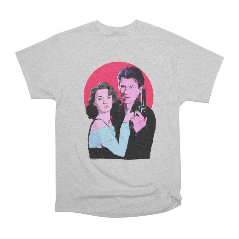 Veronica & JD Men's Heavyweight T-Shirt by Ego Rodriguez