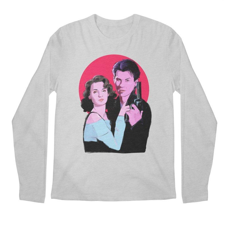 Veronica & JD Men's Regular Longsleeve T-Shirt by Ego Rodriguez