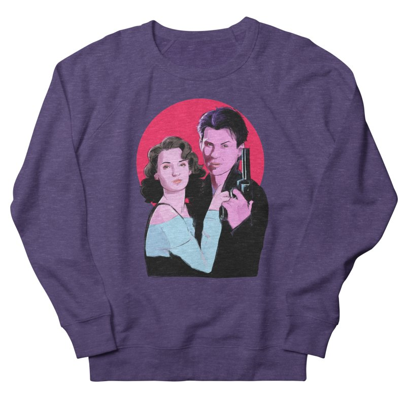Veronica & JD Men's French Terry Sweatshirt by Ego Rodriguez