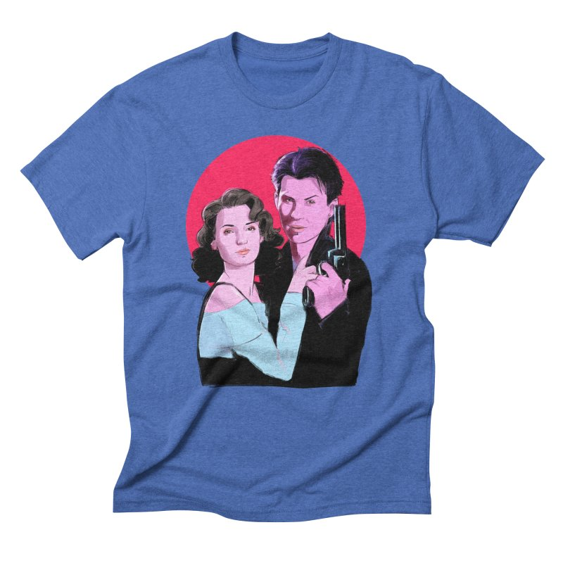 Veronica & JD Men's Triblend T-Shirt by Ego Rodriguez