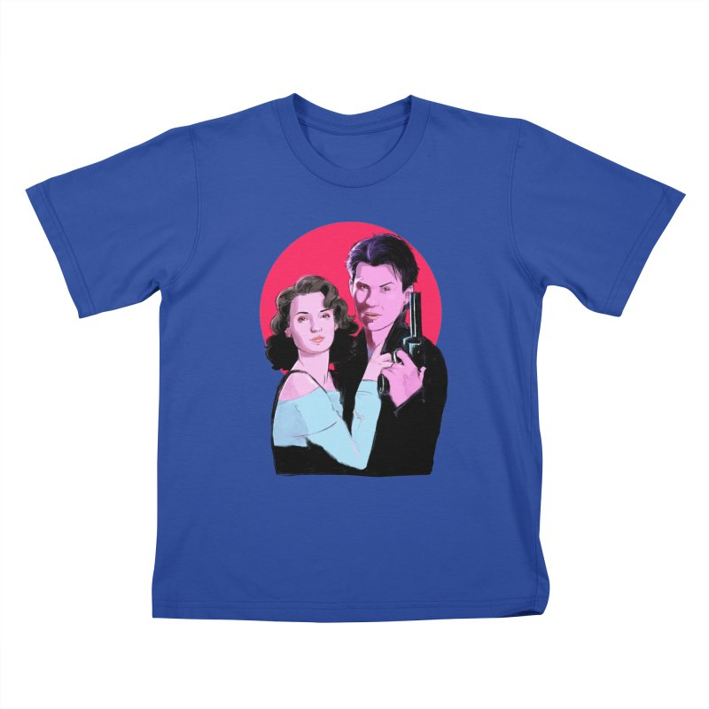 Veronica & JD Kids T-Shirt by Ego Rodriguez