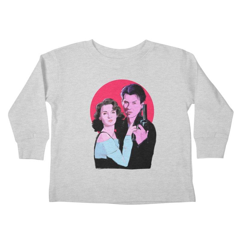Veronica & JD Kids Toddler Longsleeve T-Shirt by Ego Rodriguez