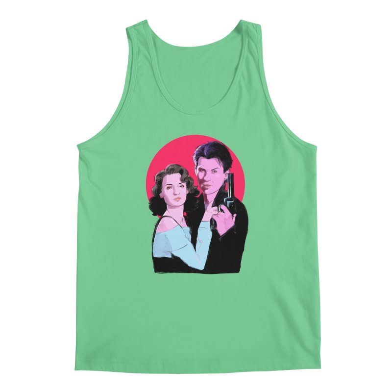 Veronica & JD Men's Tank by Ego Rodriguez