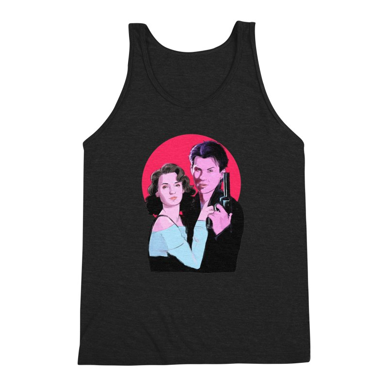 Veronica & JD Men's Triblend Tank by Ego Rodriguez