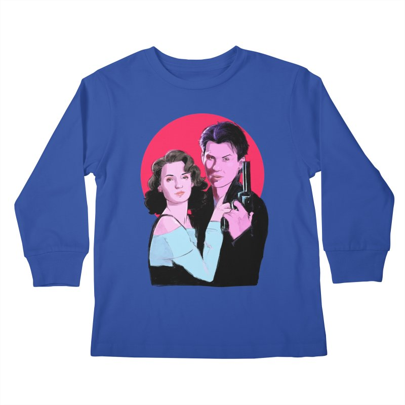 Veronica & JD Kids Longsleeve T-Shirt by Ego Rodriguez