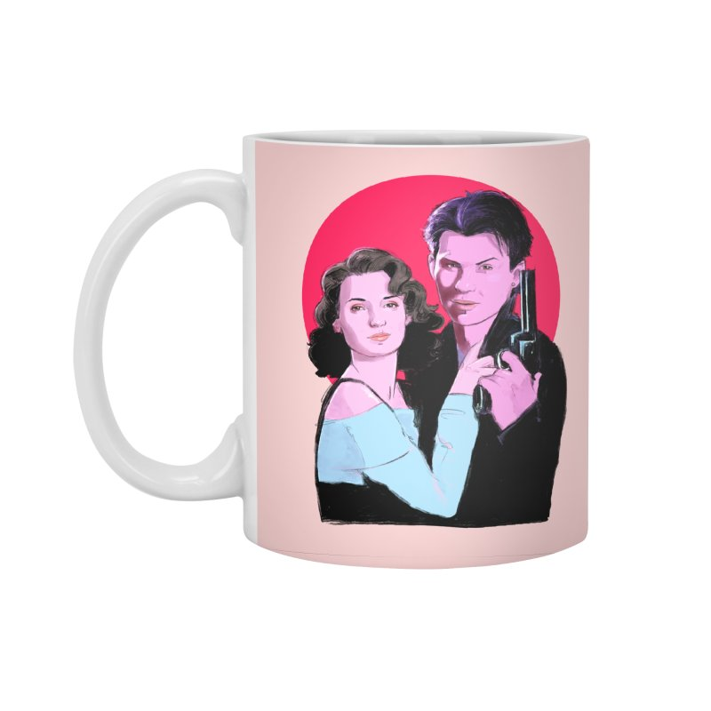 Veronica & JD Accessories Mug by Ego Rodriguez