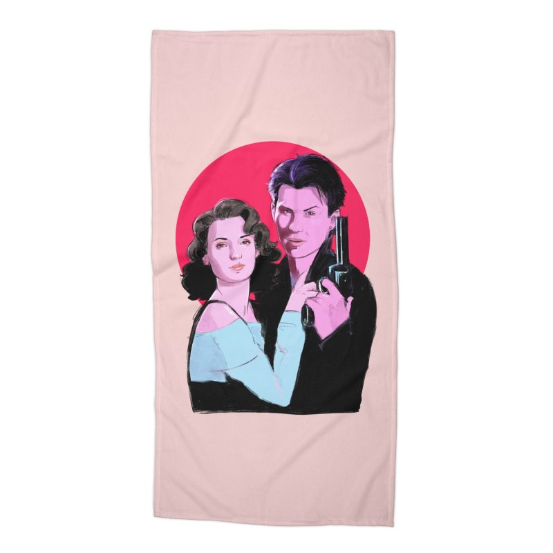 Veronica & JD Accessories Beach Towel by Ego Rodriguez