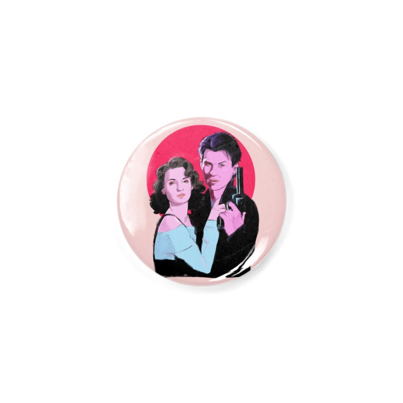 Veronica & JD Accessories Button by Ego Rodriguez