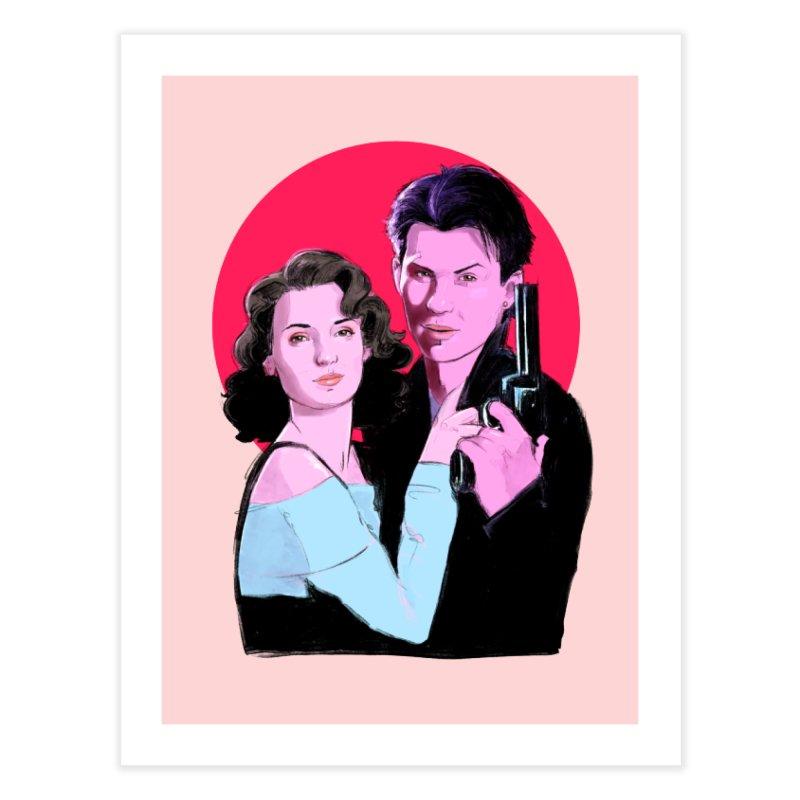 Veronica & JD Home Fine Art Print by Ego Rodriguez