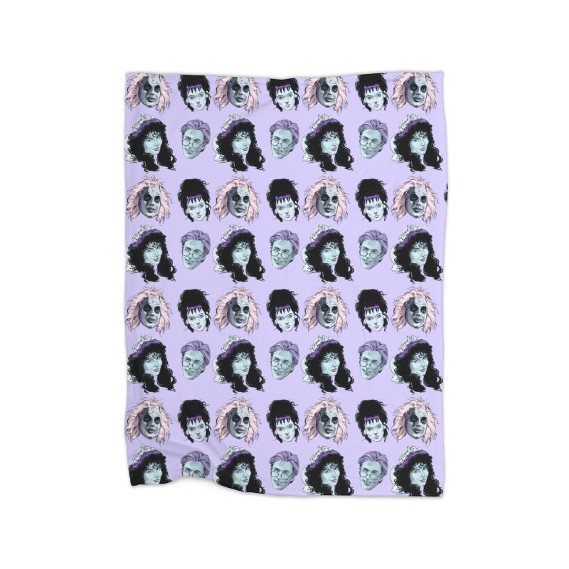 Jump in the Line Home Blanket by Ego Rodriguez