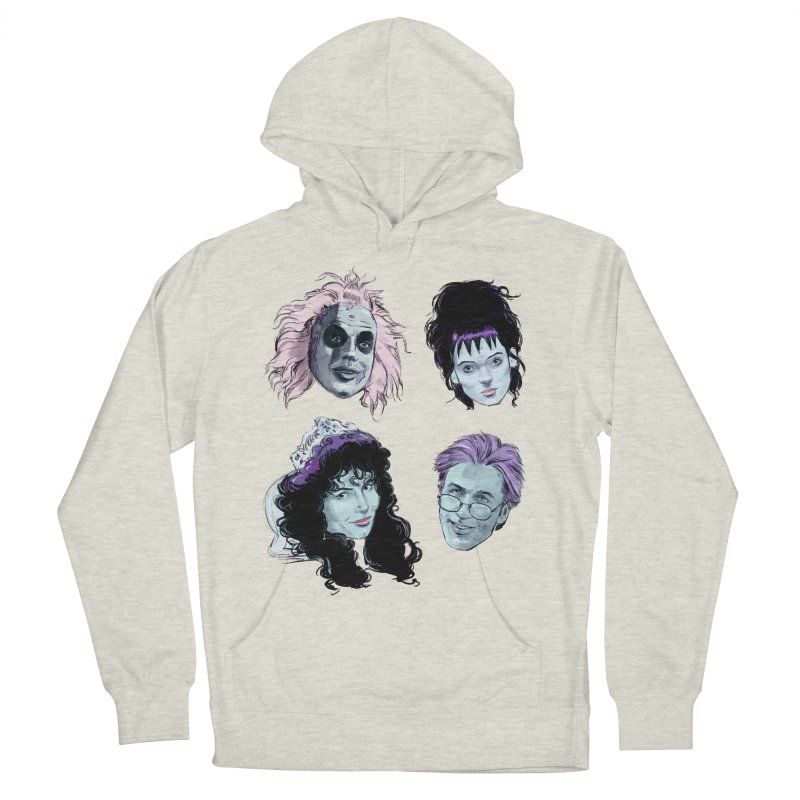 Jump in the Line Women's French Terry Pullover Hoody by Ego Rodriguez