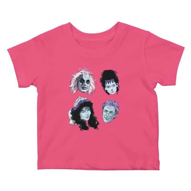 Jump in the Line Kids Baby T-Shirt by Ego Rodriguez