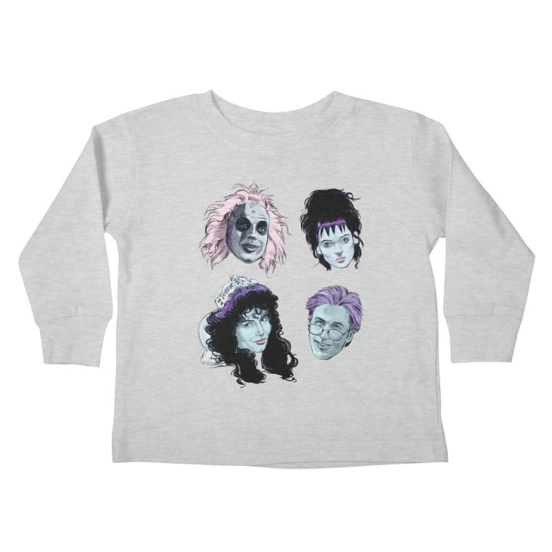 Jump in the Line Kids Toddler Longsleeve T-Shirt by Ego Rodriguez