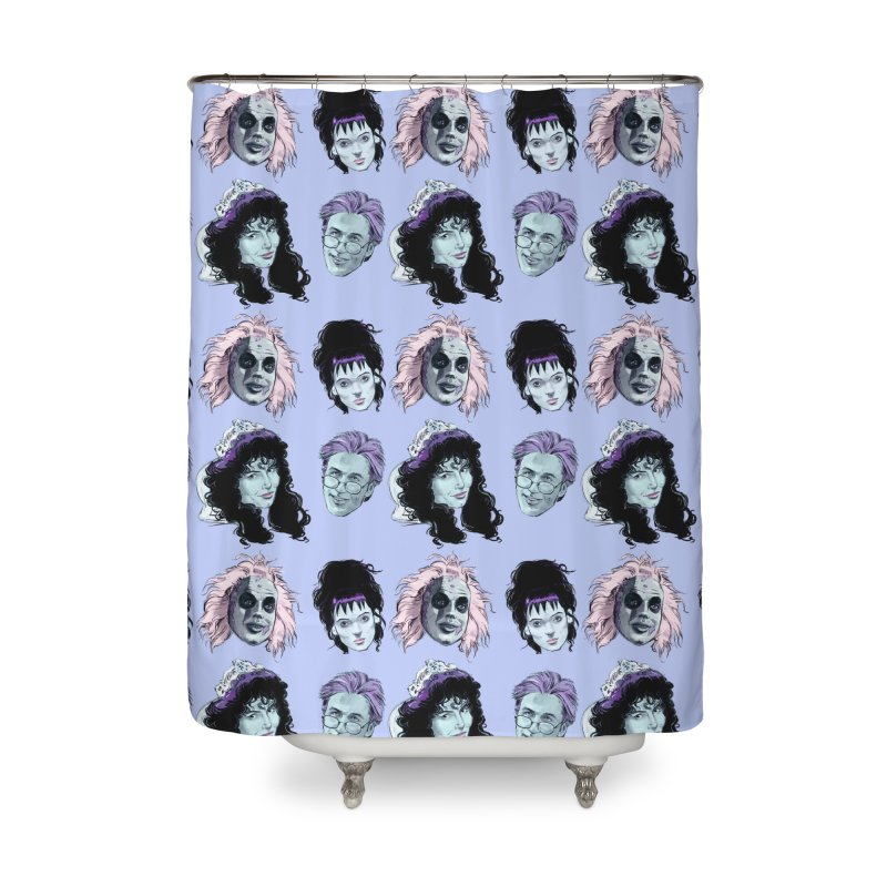Jump in the Line Home Shower Curtain by Ego Rodriguez