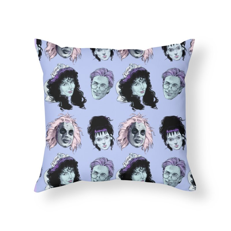Jump in the Line Home Throw Pillow by Ego Rodriguez