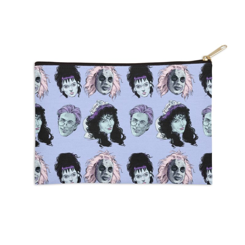 Jump in the Line Accessories Zip Pouch by Ego Rodriguez
