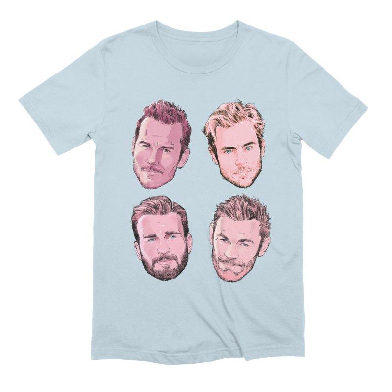 Chris-mas Men's Extra Soft T-Shirt by Ego Rodriguez