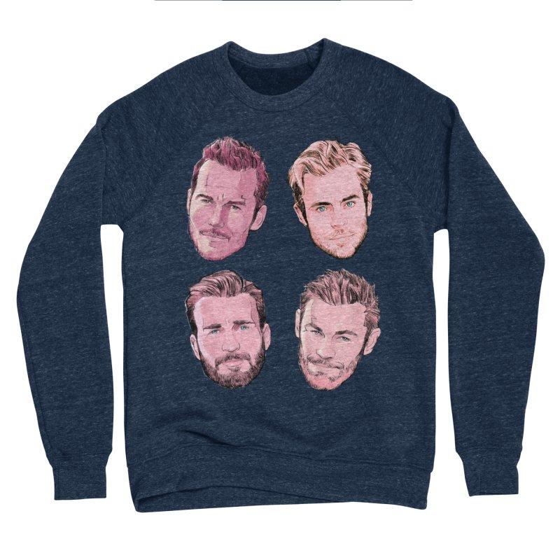 Chris-mas Men's Sponge Fleece Sweatshirt by Ego Rodriguez
