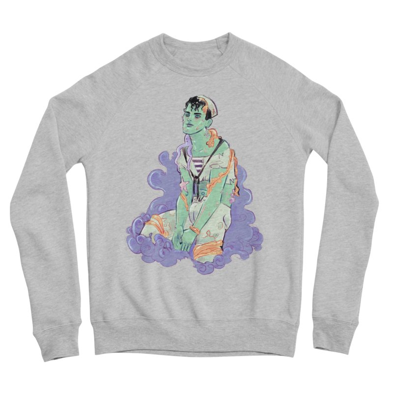 Shipwreck Sailor Men's Sponge Fleece Sweatshirt by Ego Rodriguez