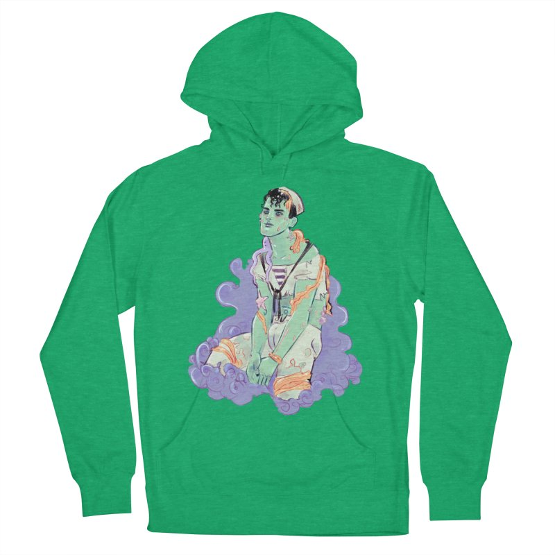 Shipwreck Sailor Women's French Terry Pullover Hoody by Ego Rodriguez