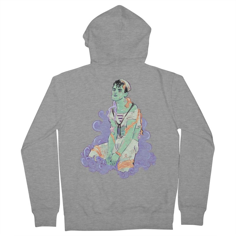 Shipwreck Sailor Women's French Terry Zip-Up Hoody by Ego Rodriguez