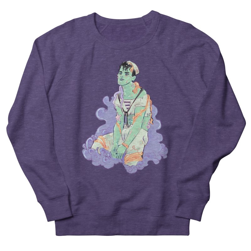 Shipwreck Sailor Women's French Terry Sweatshirt by Ego Rodriguez