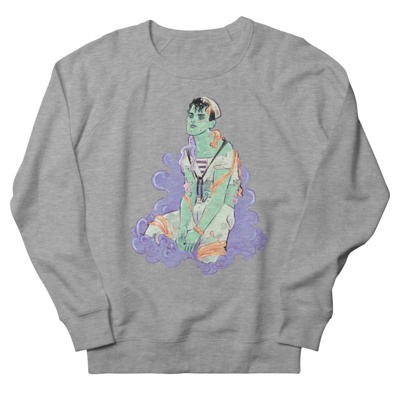 Shipwreck Sailor Men's French Terry Sweatshirt by Ego Rodriguez