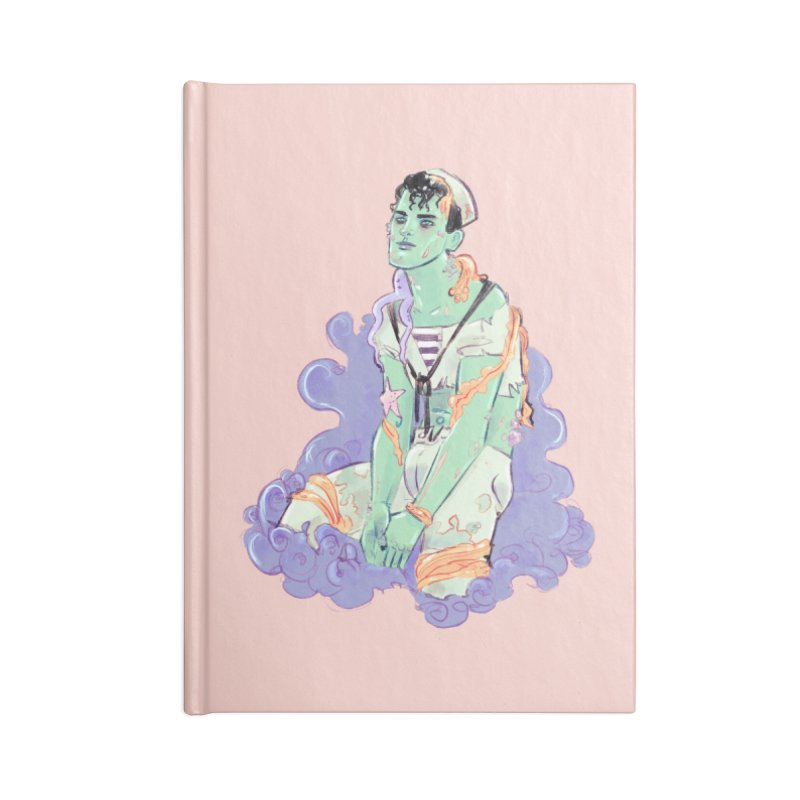 Shipwreck Sailor Accessories Notebook by Ego Rodriguez