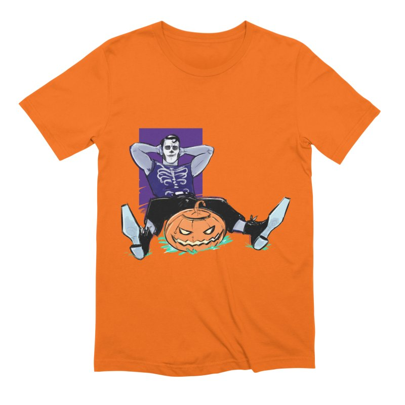 Pumpkin King Men's Extra Soft T-Shirt by Ego Rodriguez