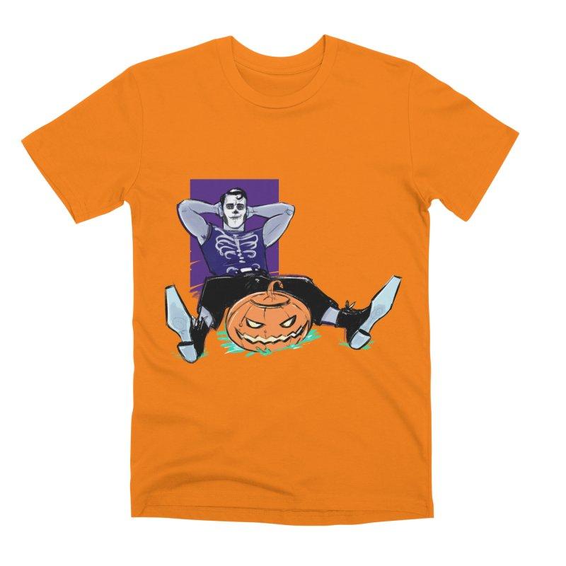 Pumpkin King Men's T-Shirt by Ego Rodriguez