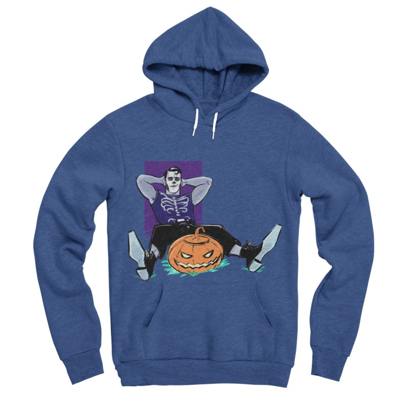 Pumpkin King Women's Sponge Fleece Pullover Hoody by Ego Rodriguez