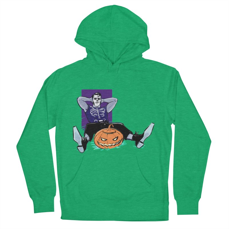 Pumpkin King Women's French Terry Pullover Hoody by Ego Rodriguez