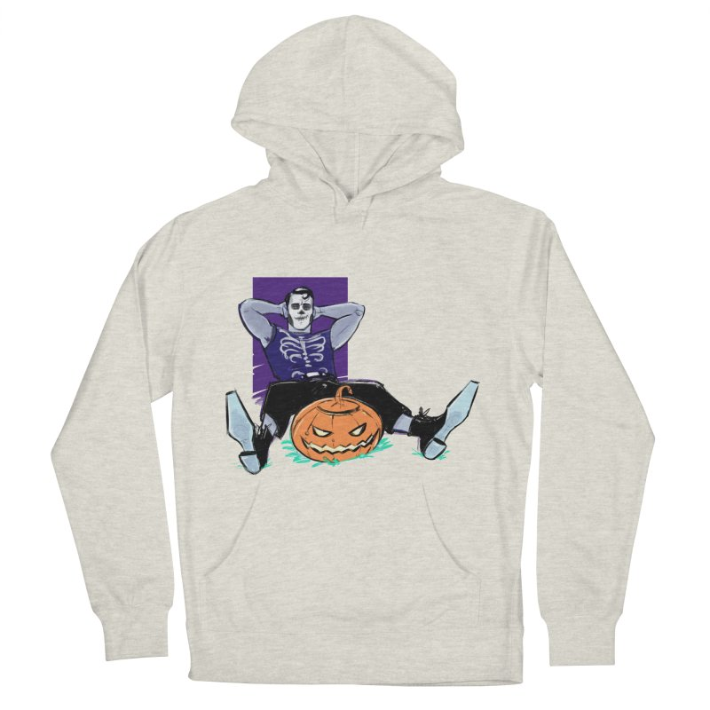 Pumpkin King Men's French Terry Pullover Hoody by Ego Rodriguez