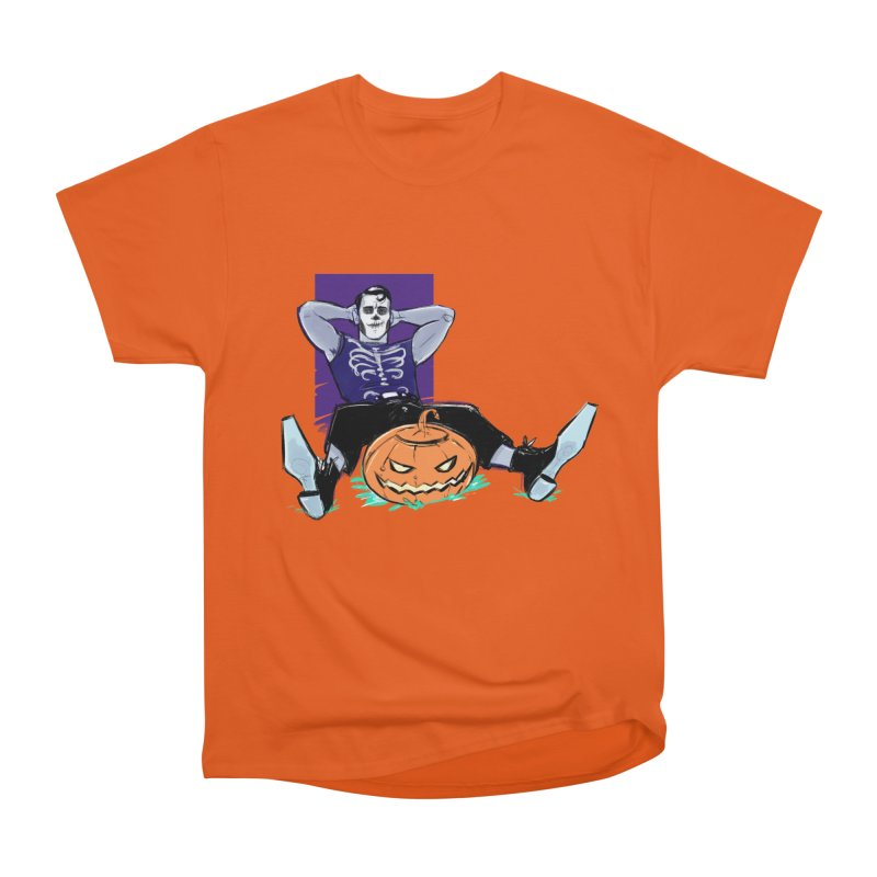 Pumpkin King Women's Heavyweight Unisex T-Shirt by Ego Rodriguez