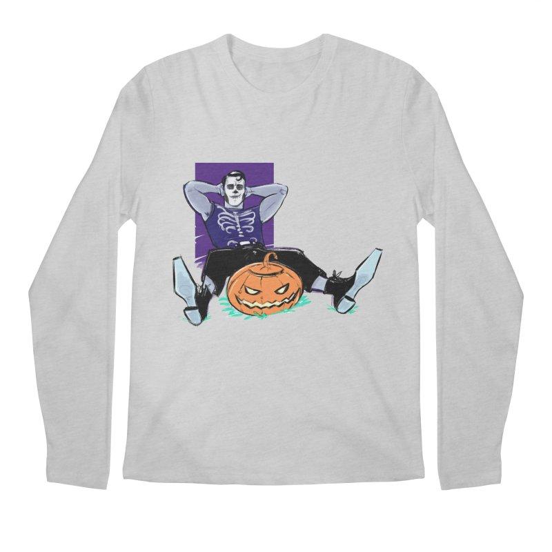 Pumpkin King Men's Regular Longsleeve T-Shirt by Ego Rodriguez