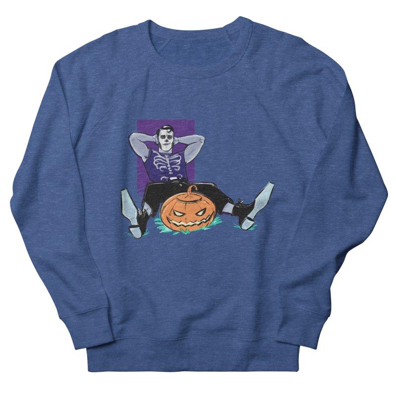 Pumpkin King Women's French Terry Sweatshirt by Ego Rodriguez