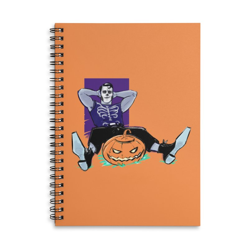Pumpkin King Accessories Notebook by Ego Rodriguez