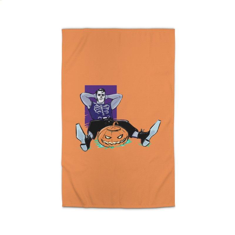 Pumpkin King Home Rug by Ego Rodriguez