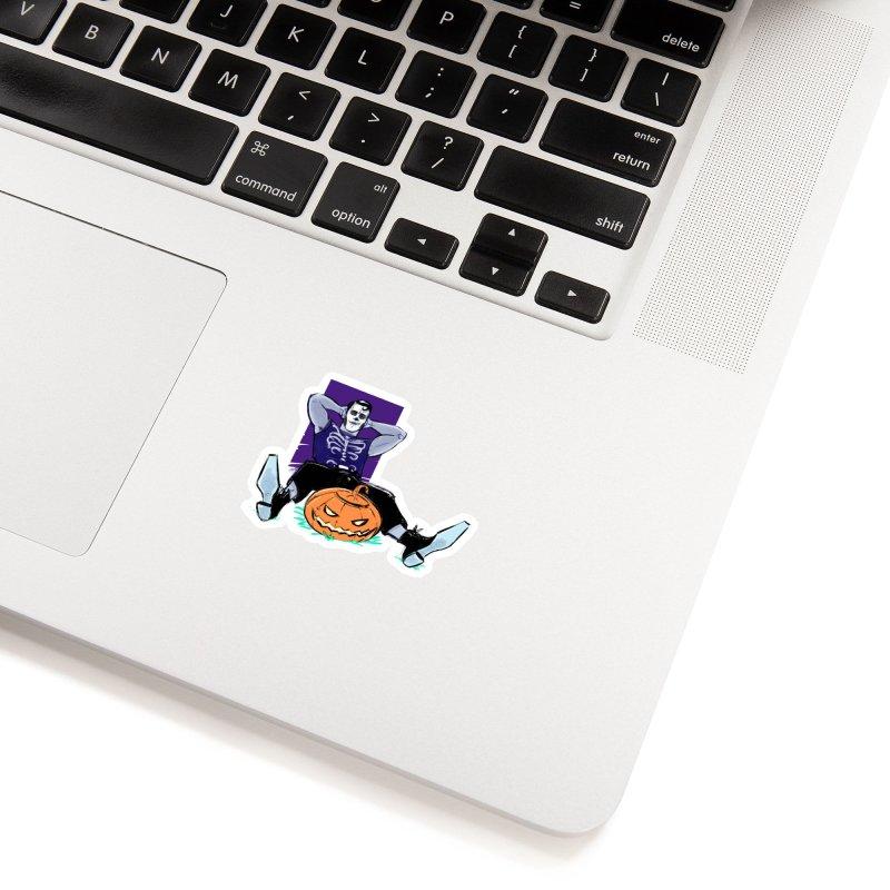 Pumpkin King Accessories Sticker by Ego Rodriguez