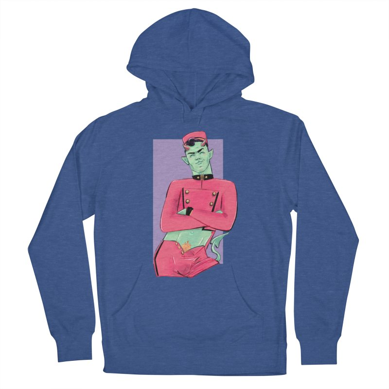 Going Down? Men's Pullover Hoody by Ego Rodriguez