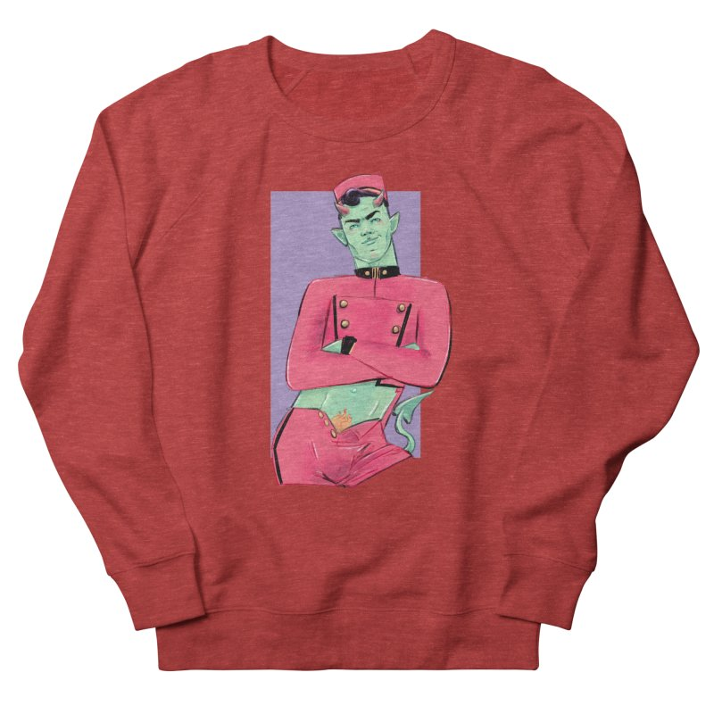 Going Down? Women's French Terry Sweatshirt by Ego Rodriguez
