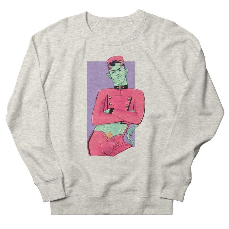 Going Down? Men's French Terry Sweatshirt by Ego Rodriguez