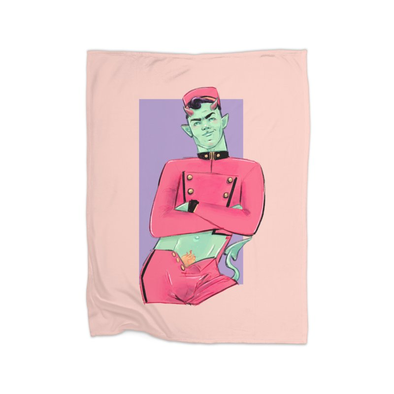 Going Down? Home Blanket by Ego Rodriguez