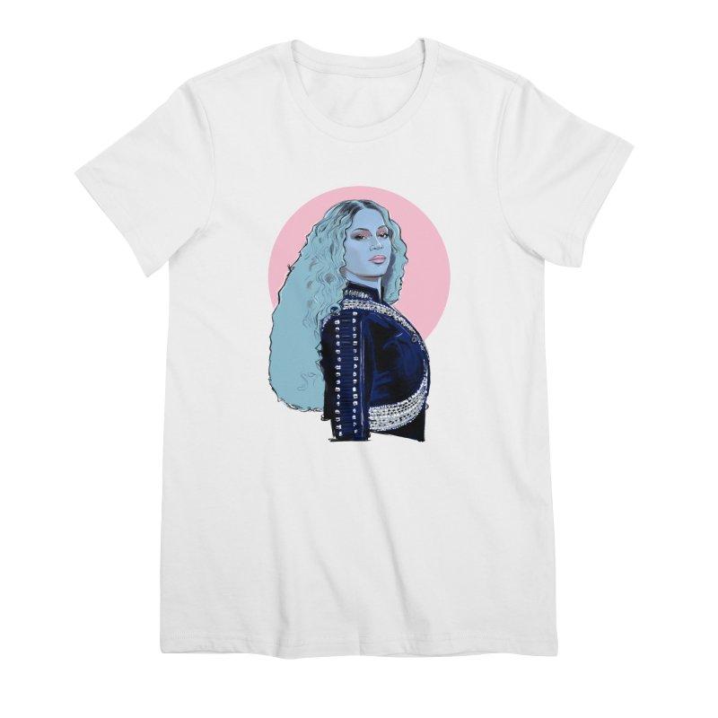 Bee Pop Women's Premium T-Shirt by Ego Rodriguez