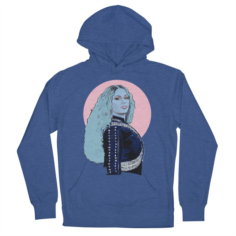 Bee Pop Women's French Terry Pullover Hoody by Ego Rodriguez