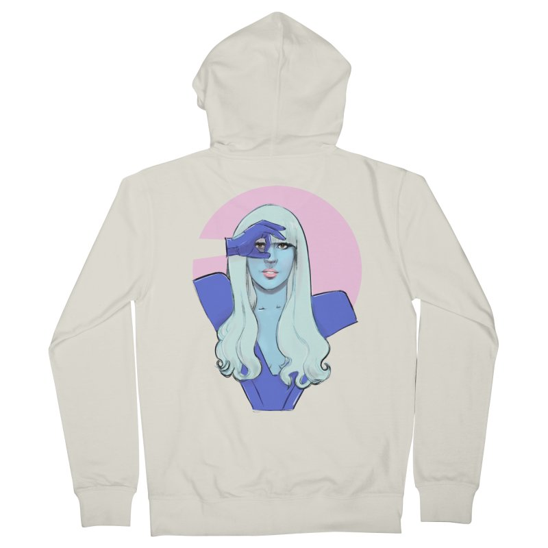 Fame Pop Women's French Terry Zip-Up Hoody by Ego Rodriguez