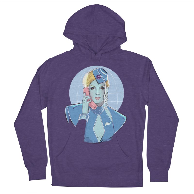 Toxic Pop Women's French Terry Pullover Hoody by Ego Rodriguez
